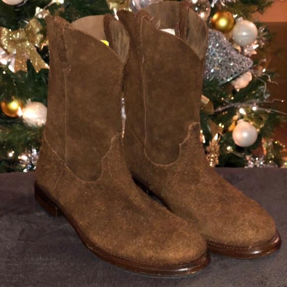 b65a6d24be4 Men's Frye Duke Roper Suede Boots